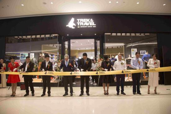 trek&travel首家旗舰店上海万象城盛大开幕图片