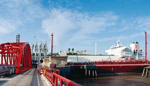 如东洋口港lng专用码头