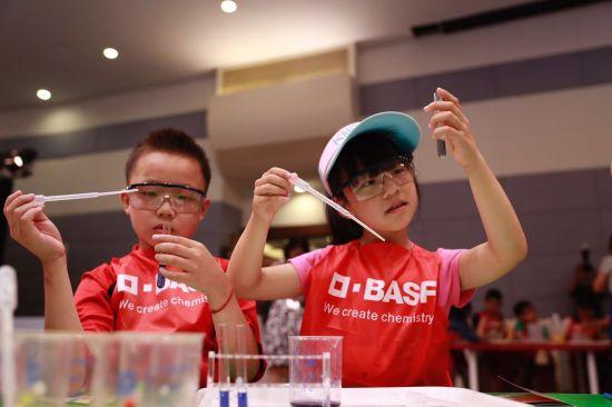 """巴斯夫小小化学家在上海科技馆推出""""聪明的美食家""""倡导健康饮食"""