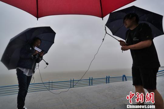 """""""安比""""成为新中国以来第三个直接登陆上海的台风"""