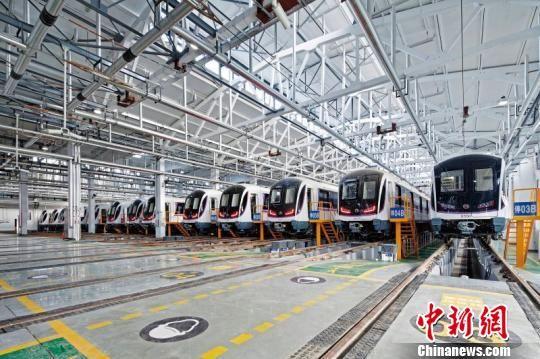 首条以大跨度钢桥跨越黄浦江地铁线开启上海郊区奉贤轨交时代