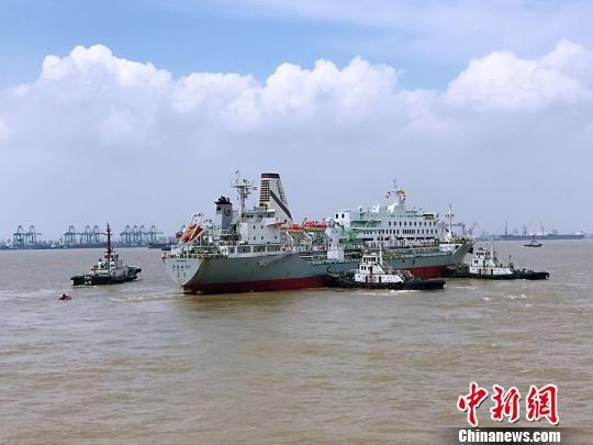 上海举行国际邮轮大规模人员转移应急演习