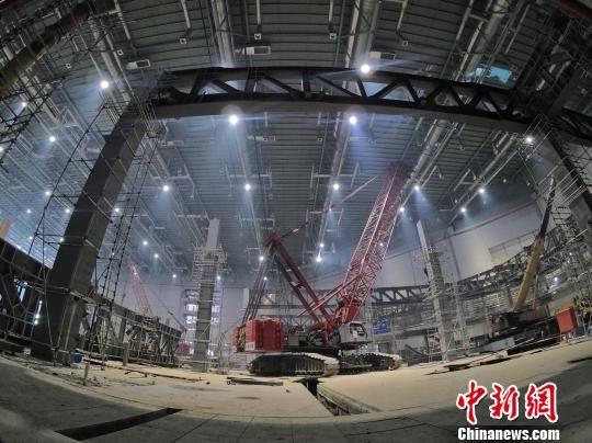 """国家会展中心(上海)""""加层""""改建 为第二届进博会扩容"""
