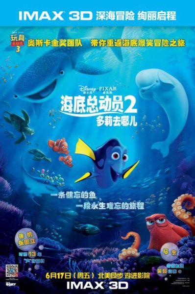 蓝色章鱼 手绘