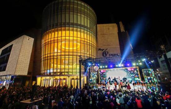 恒隆广场61上海跨年狂欢喜迎2017图片